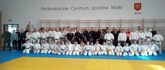 Szkolenie sędziowskie oraz Kadry Wojewódzkiej Młodzików - karate - Podkarpacie
